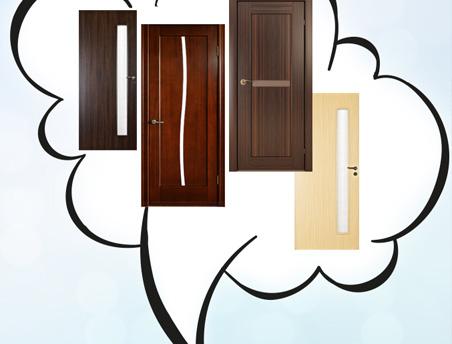 Цвет межкомнатных дверей - как правильно его подобрать?